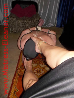 Forced Foot Worship